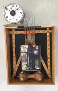 Clock O-66 by Ann Durley