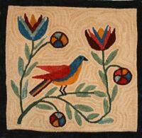 Red Wing Bluebird by Anna Mallard