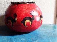 Rabbit Gourd by Anna Mallard