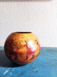 Elk Gourd by Anna Mallard