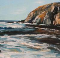 Oregon Beach Rocks by Barb Meyer