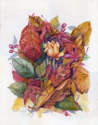 """Last Rose"" by Becki Hesedahl"