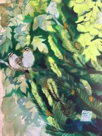 Birdhouse #1 by Christine Hannegan