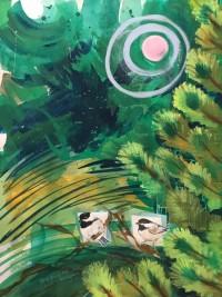 Birdhouse #3 by Christine Hannegan