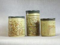 Ceramic cups by Gerard Brehm