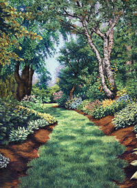 Enchantment at Sebright Garden by Heather Taylor