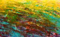Oregon Rain Painting by Pam Serra-Wenz
