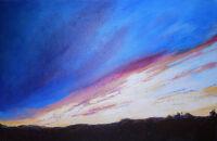 Mid Willamette Valley Sunset by Pam Serra-Wenz
