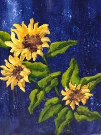 Sunflowers by Pam Serra-Wenz