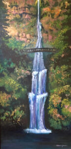 Multnomah Falls by Patricia Young
