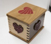 Four Hearts Box by Paul Szudzik