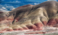 Painted Hills by Rich Bergeman
