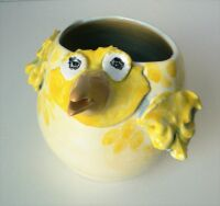 Fat Bird Vase by Sue Mason
