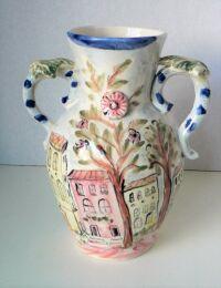 Scenic Vase by Sue Mason